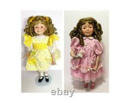 Lot of 11 Dianna Effner collector collectable dolls ranging rare to common