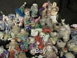 Lot of 60+Vintage Large Clown Collection