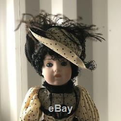 Louis Nichole 18 Porcelain World Dolls Inc. Heirloom Collection Vintage