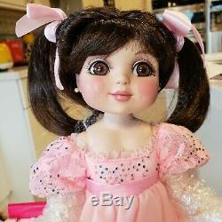 MARIE OSMOND doll ADORA PORCELAIN BISQUE DOLL LTD EDITION VINTAGE All bisque