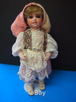 MITZI International-Sweden- Dolls by Jerri McCloud 16 RETIRED VINTAGE DOLL