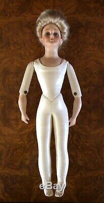 Marianne De Nunez Porcelain Head Kid Body 1975 Doll