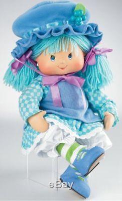 Marie Osmond Strawberry Shortcake Blueberry Muffin Porcelain Doll MIB COA C24997