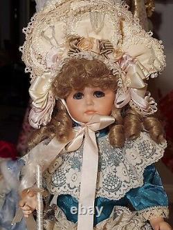 Maryse Nicole Evyett Mein Lieblin Vintage 1990 Full Porcelain Doll Victorian