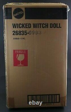 Mattel Treasures WICKED WITCH OF THE WEST Wizard of Oz Porcelain Treasures Doll