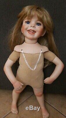 Miranda by Dianna Effner 1999 Expressions Porelain Doll 24 tall Vintage RARE