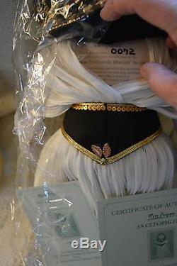 Miss Piggy Cleopigtra 72/2500 Famous Femmes Histoire New Mint Le Vintage 85 Doll