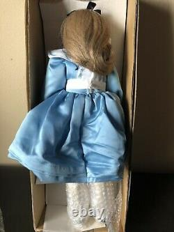 NEW Vintage 1985 Silvestri Alice In Wonderland Doll By Faith Wick With COA