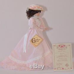 NIB Porcelain Gibson Girl Doll Vintage Classic Anna #142 By Gambina
