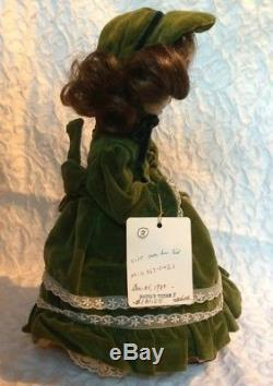 Numbered Vintage CECILE Music Automata Doll Automaton Hands Head Move Musical