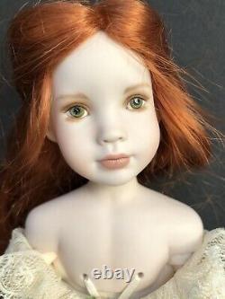 OOAK Collectible Porcelain Doll by Linda Mason, Vintage Series LE 4