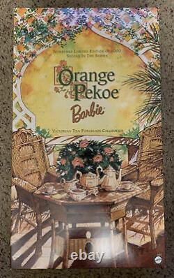 Orange Pekoe Barbie Doll 1999 Victorian Tea Porcelain Collection