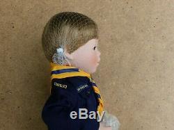 Original Packaging Danbury Mint Colin Porcelain Doll Vintage Cub Scout Uniform