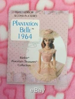 PLANTATION BELLE BARBIE 1964 Porcelain LE Vintage 1991 Serial # 06691