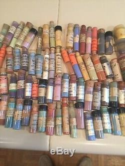 Paints For Porcelain china Or Doll Painting Over 80 Glass Vintage Vials