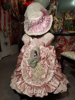 Pat Loveless 30 inch Antique Reproduction Jumeau Doll All Porcelain 128 of 400