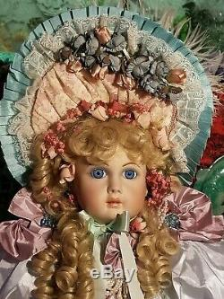Pat Loveless 30 inch Antique Reproduction Jumeau Doll All Porcelain 170 of 400