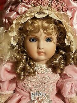 Pat Loveless Antique Reproduction Full Composition French 16 Jumeau Doll
