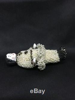 Porcelain Vintage frozen Charlotte Doll 3 inch