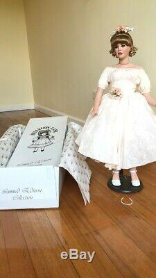 Porcelain doll limited edition collection Julia Hillview Lane vintage antique