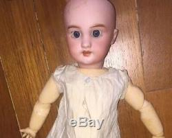 +++ RARE Hypno Doll Vintage Toy poupee Mystic tete porcelaine DEP Jumeau +++