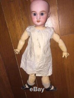 +++ RARE Old Vintage Toy poupee ancienne tete porcelaine DEP Jumeau +++