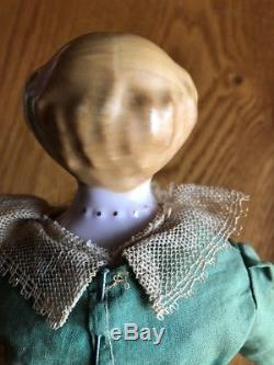 RUTH GIBBS Antique Vintage Porcelain Godeys Lady Book China Doll 12 withbox