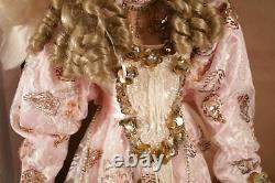 Rare 34 Rustie Designer Porcelain Doll Pink Victorian Dress Blonde Girl- LE