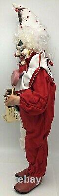 Rare Faith Wick Unique Clown Doll Candy Gingerbread Creations 1990 1991