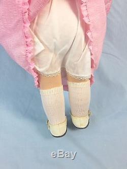 Rare Vintage Porcelain Doll Kathe Kruse Germany, Girl Puppen, 18.5 Inches