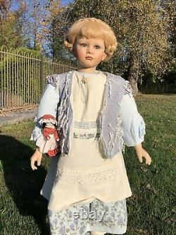 Rare William Tung TUSS collection porcelain doll MAJESTIC BEAUTIFUL GIRL 48