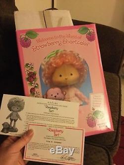 Raspberry Tart Danbury Mint Porcelain Doll Strawberry Shortcake