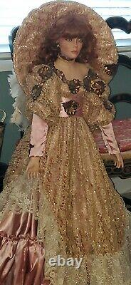 Rustie Stormy42 Porcelain Doll REDHAIR, 604/2500Weldon Musm TLC READ DETAILS