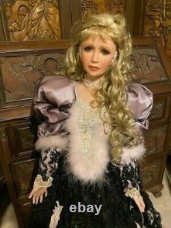 Rustie Vintage Limited Edition FANCIE 42 Porcelain Doll