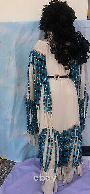 Rustie Vtg Native American Indian Princess 40 Porcelain Doll Sale