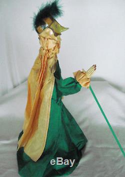 SPAIN Vintage MARIONETTE Art Doll PUPPET PULLICINIELLO Pulcinella ZANNI 23