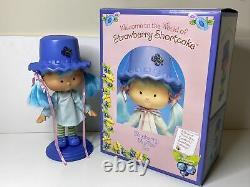 Strawberry Shortcake Blueberry Muffin Porcelain Danbury Mint Doll