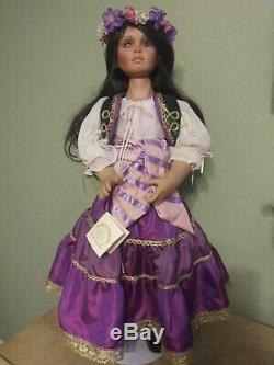 Stunning Extremely RARE ARIELA. By Lori Ladd Porcelain Doll. GYPSY 28 COA