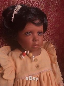 Stunning Vintage Masterpiece 1998 Porcelain Doll by Pamela Erff 125/1500