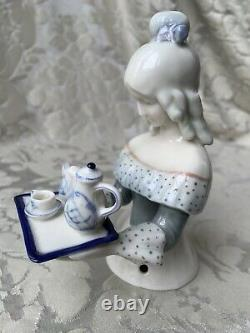 Superb Large Half-doll/demi-figurine/teepuppe/ Buste/chocolatière/chocolate Lady