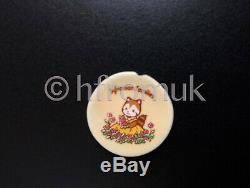 Sylvanian Families Ceramic Porcelain Miniature Tea Set Club Collect Vintage RARE