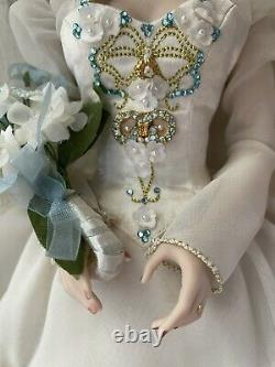 The Franklin Mint Katya Faberge Summer Russian Bride Porcelain Collector Doll
