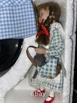 The Wizard of Oz Porcelain Dorothy Doll Collection, 3 Ornaments Beautiful