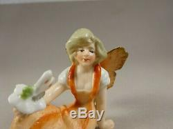Three Wonderful Reclining Vintage Porcelain Lady Dolls