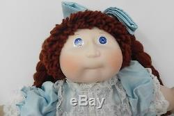 Ultra Rare Vintage Cabbage Patch Kids Porcelain Collection 16 Doll Prestine