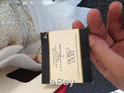 VINTAGE 1983 World Doll Full Porcelain Black Sequin Marilyn Monroe #91695 NEW