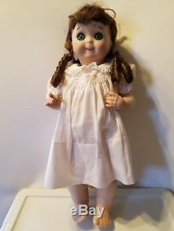 VINTAGE 1985 GOOGLY EYE BISQUE 18 DOLL Marked Germany MARKED JDK 221