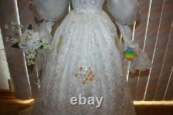 VINTAGE ASHLEY BELLE BRIDE DOLL COLLECTOR ITEM LARGE 42 INCH Excellent