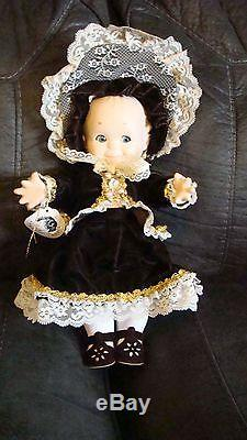 VINTAGE BISQUE PORCELAIN 15 inch FULLY JOINTED JESCO KEWPIE DOLL MARKED