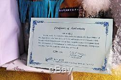 VINTAGE/NIB! 26 BLUE BIRD INDIAN PORCELAIN DOLL LMTD ED #200/5000 COA DUCKhouse